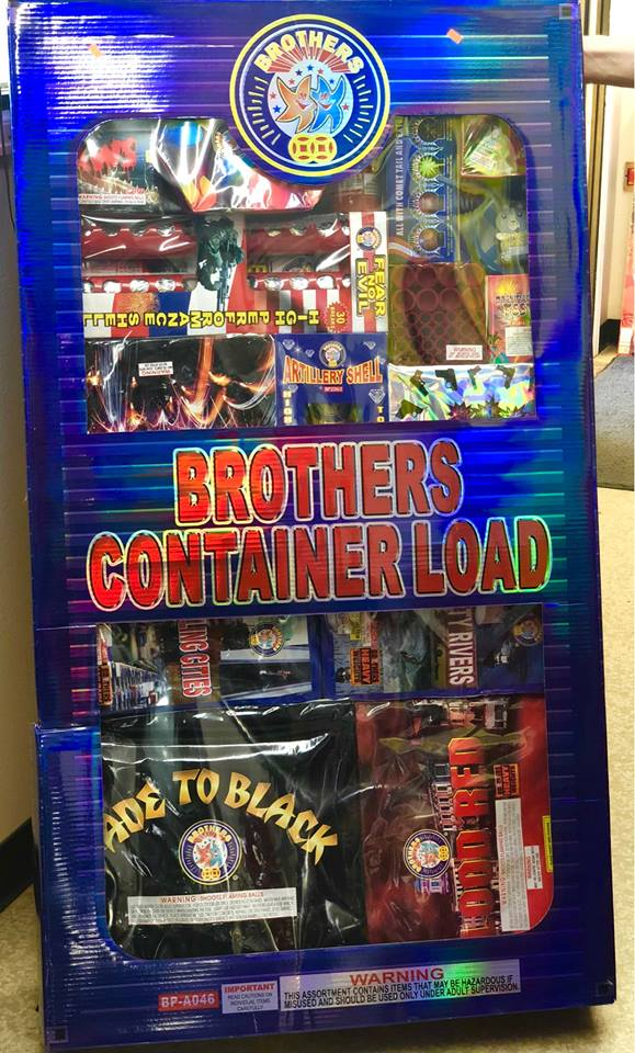 The big bad brothers container load!!