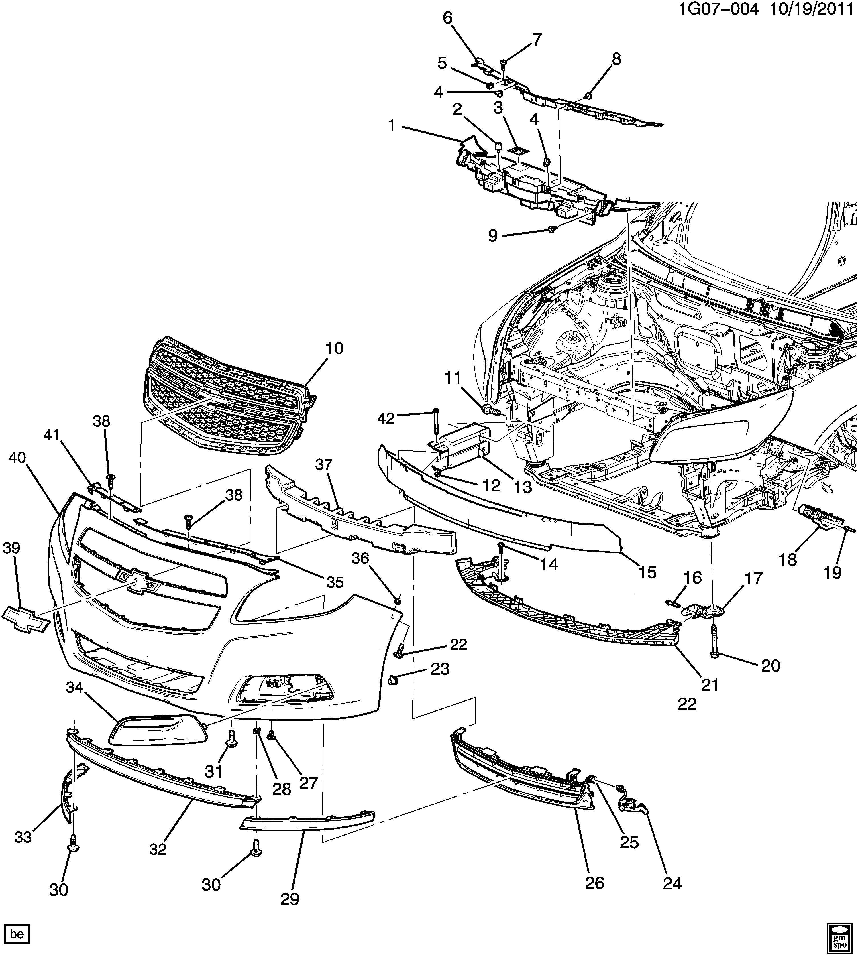 Chevrolet Malibu Wiring Diagrams