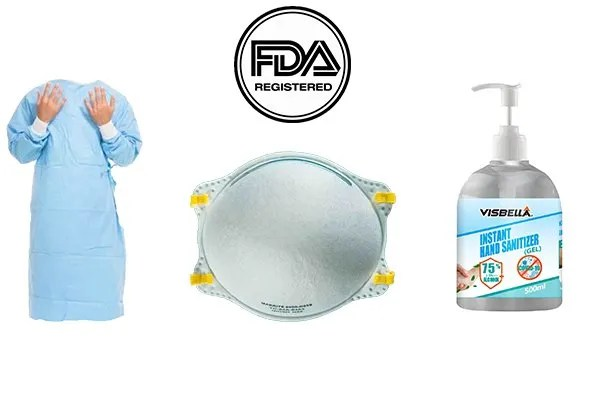FDA Approved PPE Supplies