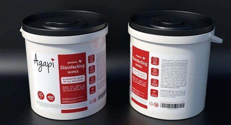 wholesale disinfectant wipes render