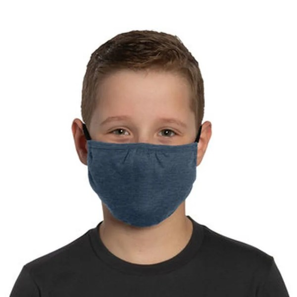bulk kids face masks navy