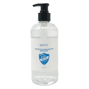16.9oz gel sanitizer front
