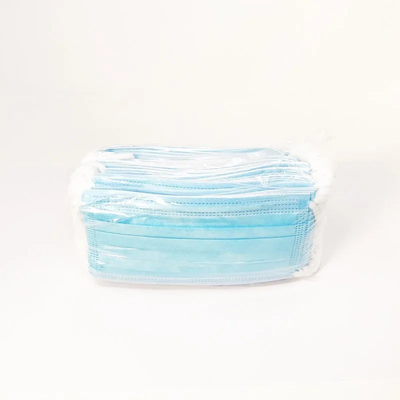 bulk disposable face mask wrapped