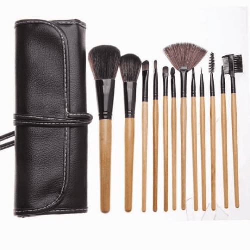 Bobby Brown Wooden 12 Brushes Set