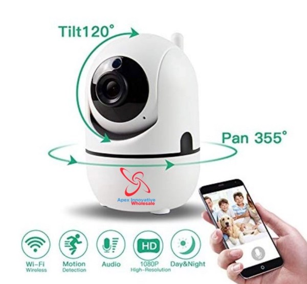 Indoor WiFi 1080p Security Camera - Wholesale Products Pro
