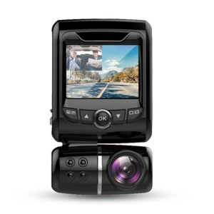 dual dashcam 1080p with real night vision