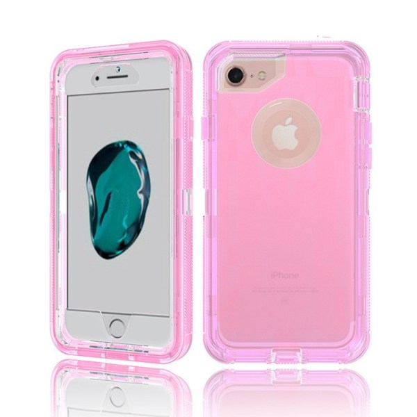 For Samsung Galaxy Note 8 Clear Defender Mobile Case - Pink - Wholesale Products Pro