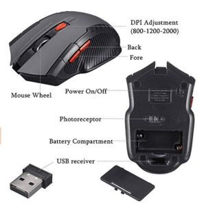 Gaming Mouse with universal device compatibility