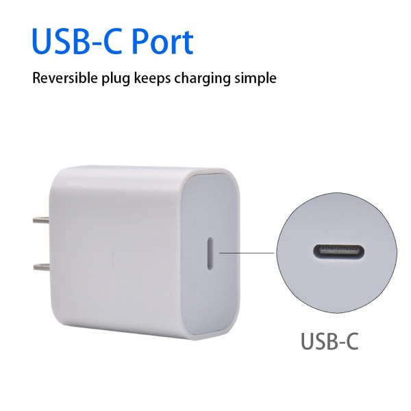 PD Fast Charger 18W USB C-Type Wall Charger