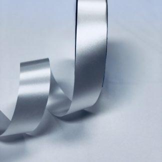 White Waterproof Satin Ribbon Narrow