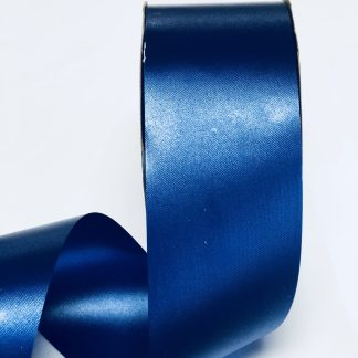 Navy Blue Waterproof Satin Ribbon