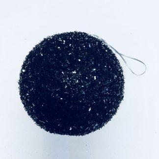 Black Sparkle Ornament