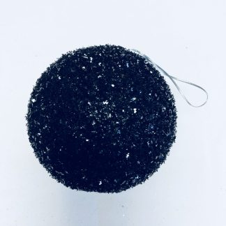 Black Sparkle Ornament