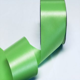 Citrus Green Waterproof Satin Ribbon