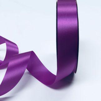 narrow fuchsia satin acetate ribbon
