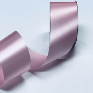 pink satin acetate ribbon