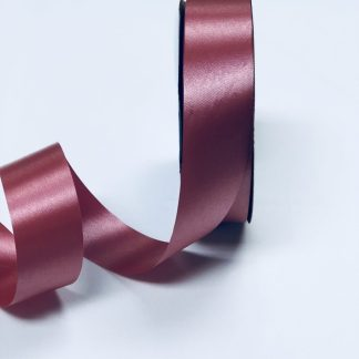 Imperial Red Waterproof Satin Ribbon Narrow
