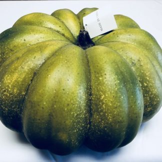 Green Flat Foam Pumpkin