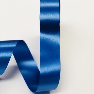 Royal Blue Waterproof Satin Ribbon Narrow