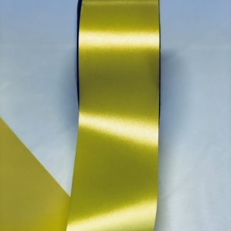 Yellow Waterproof Satin Ribbon