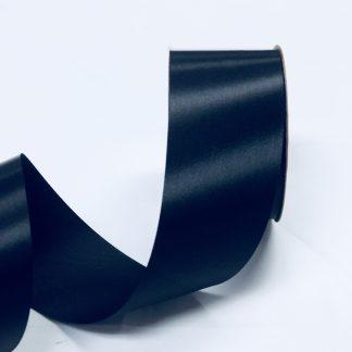 black satin acetate ribbon