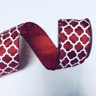red satin ribbon