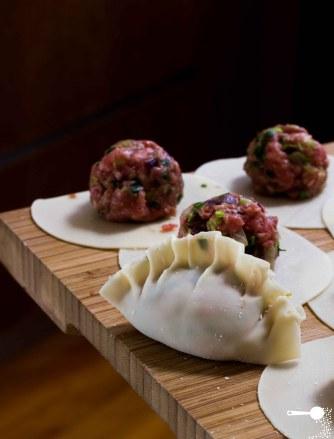 Northern Chinese lamb dumplings