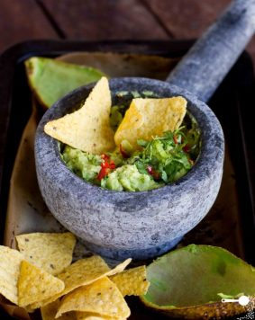 Roasted Avocado Guacamole