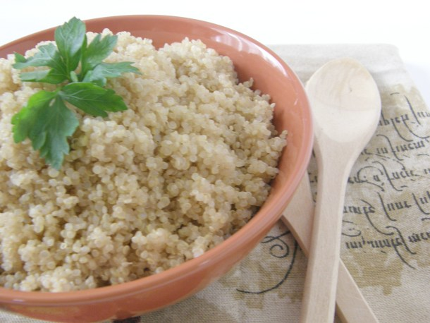 Fluffy Seasoned Quinoa
