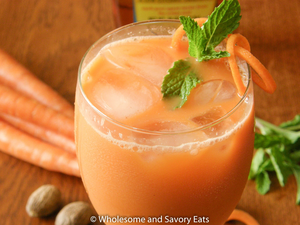 Vegan Jamaican Carrot Drink