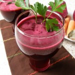 Beets, Apples and Carrot Juice Medley