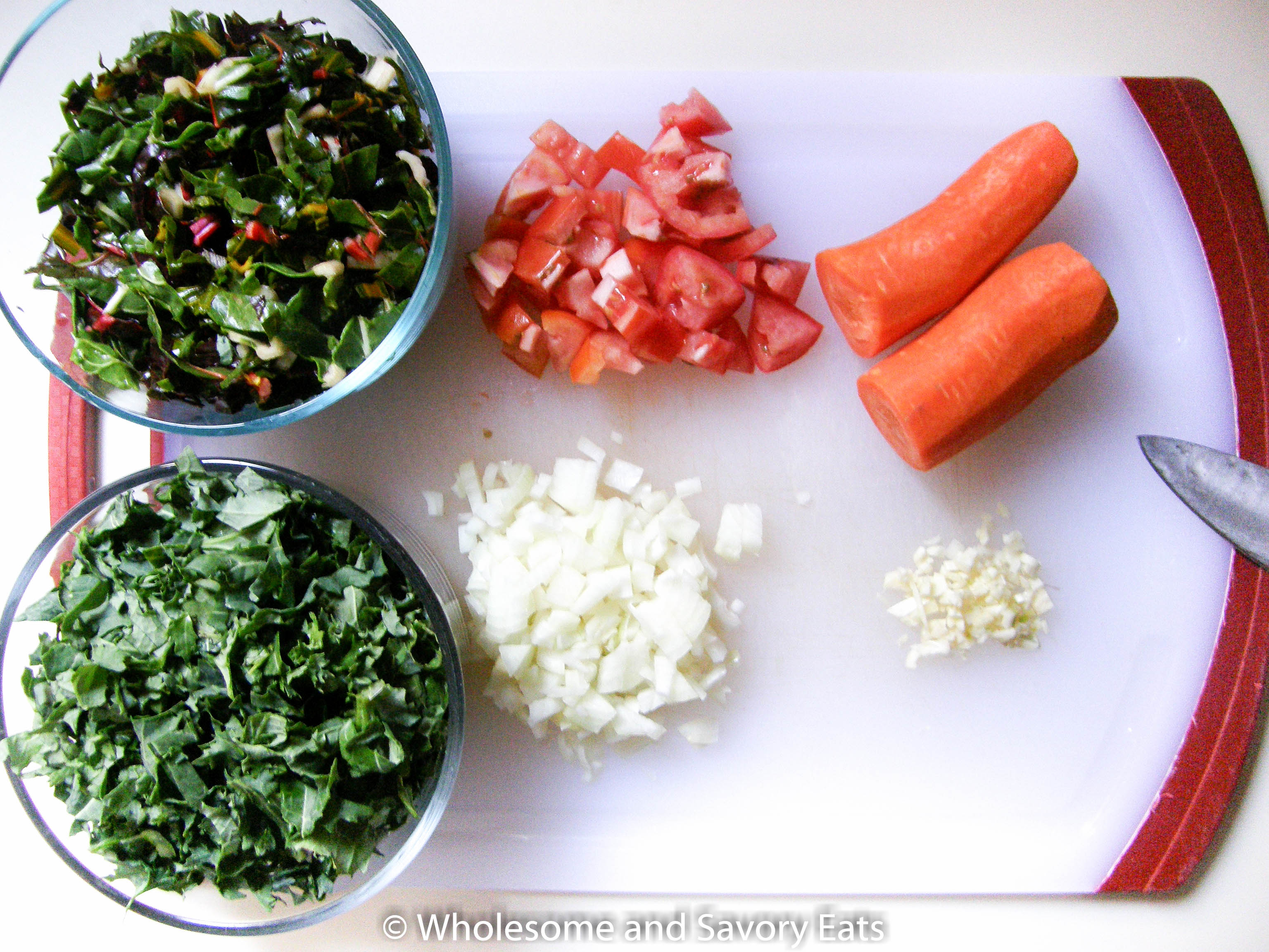 Meatless Monday: Kale, Swiss Chard and Kidney Bean Soup