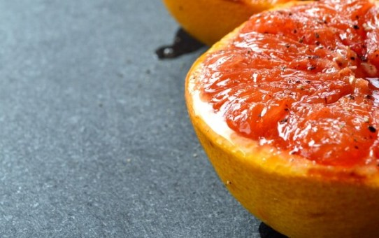 Grilled Red Grapefruit