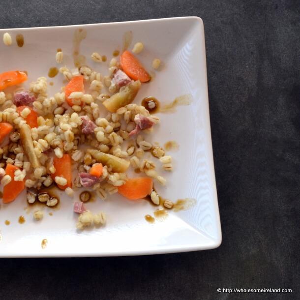 Pearl Barley Salad from Wholesome Ireland - Irish Food & Parenting Blog