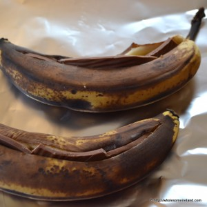 Baked Banana & Chocolate from Wholesome Ireland - Irish Food & Parenting Blog