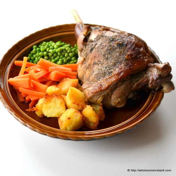 Slow Roast Leg Lamb 2