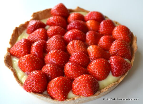 Glazed Fruit Tart - Wholesome Ireland - Irish Food & Parenting Blog
