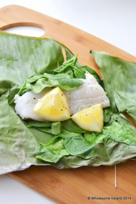Steamed Cod With Spinach - Wholesome Ireland - Food & Parenting Blog
