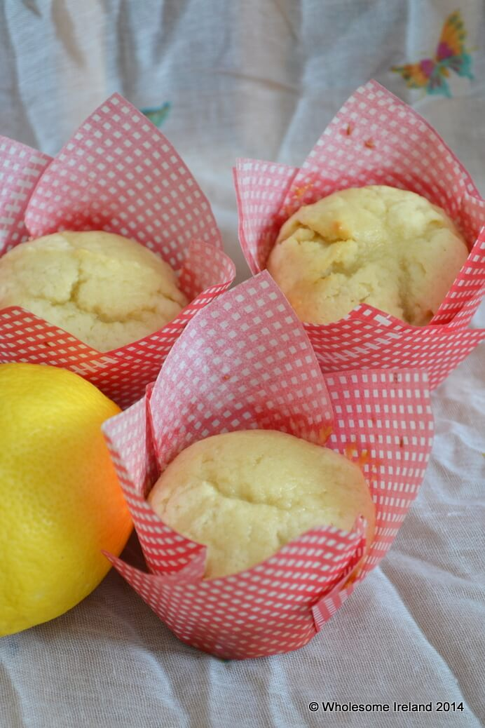 Lemon Muffins - Wholesome Ireland