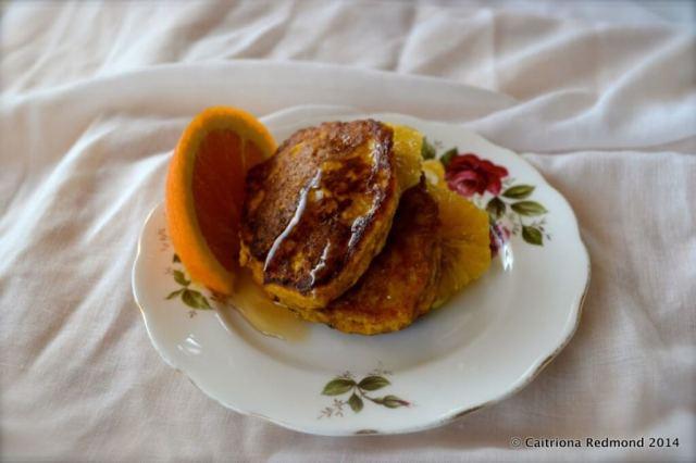 Pumpkin Pancakes - Caitriona Redmond