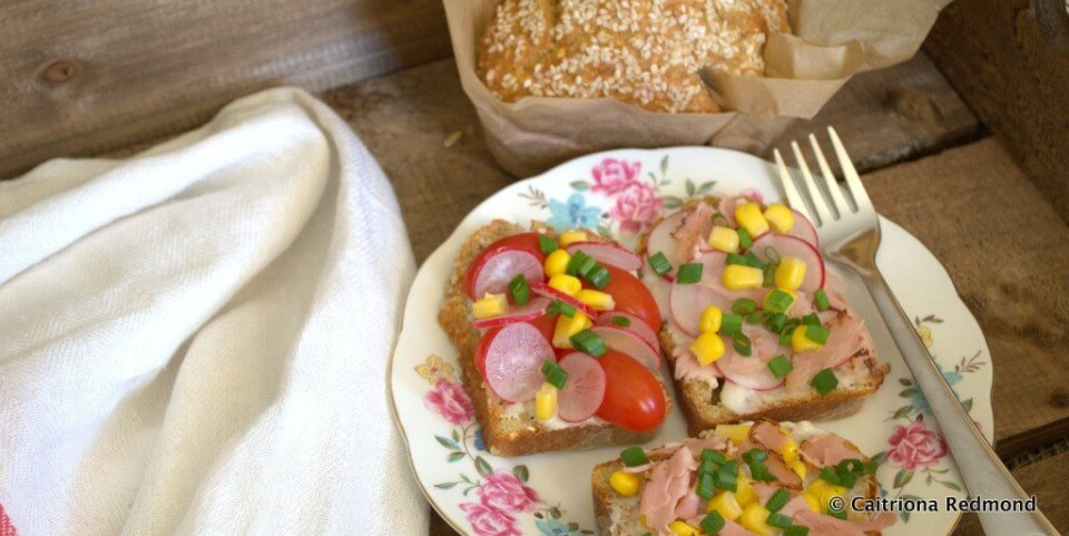Wholesome Open Sandwich