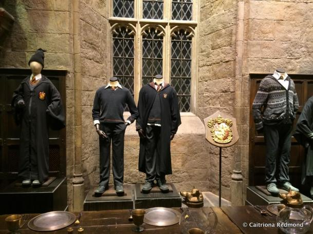 Uniforms in the Great Hall
