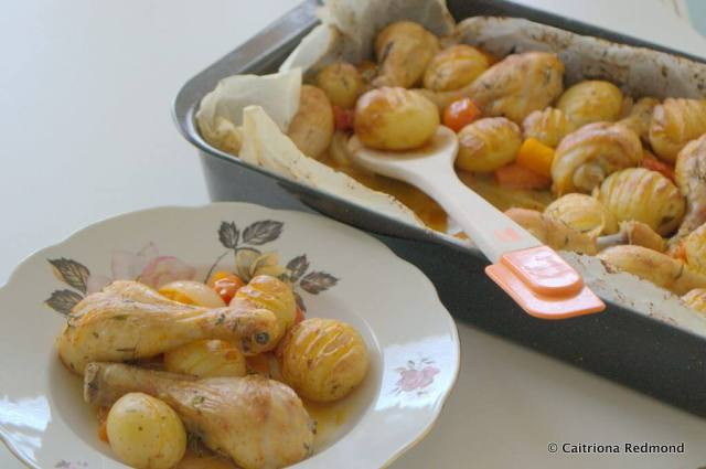 Simple Chicken Traybake