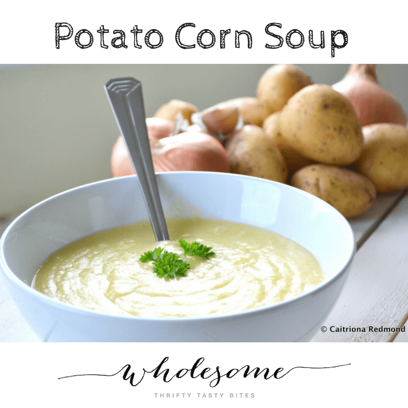 Potato Corn Soup Recipe - Ad