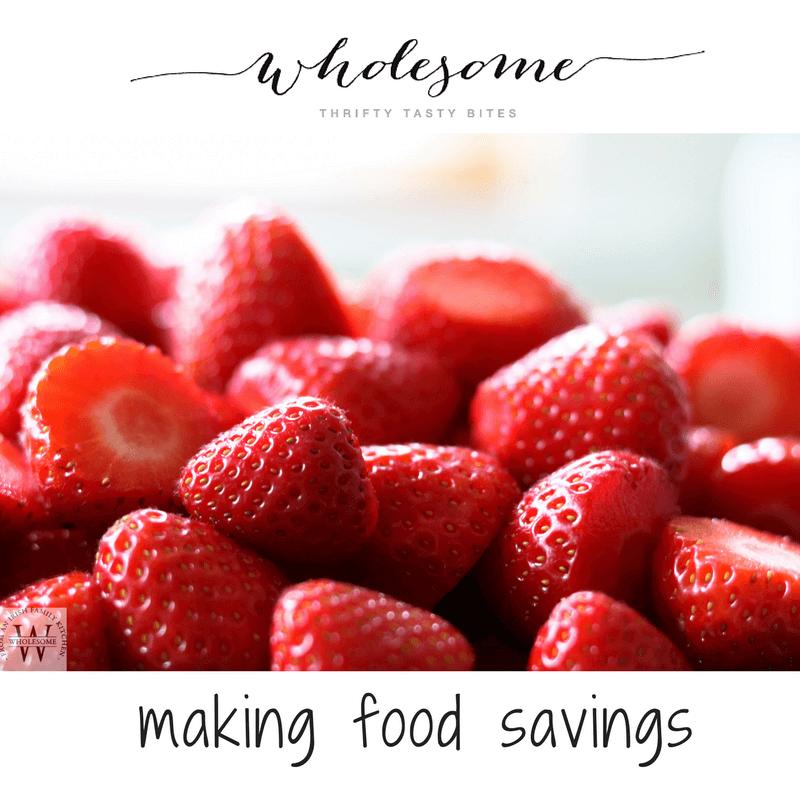Making Food Savings