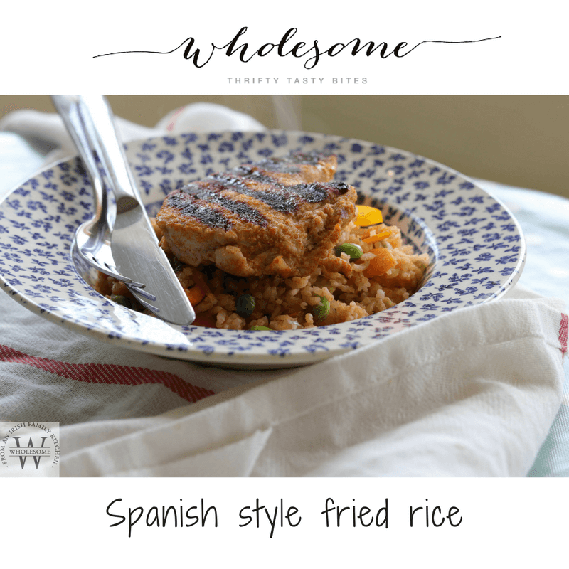Spanish Fried Rice with Turkey Recipe