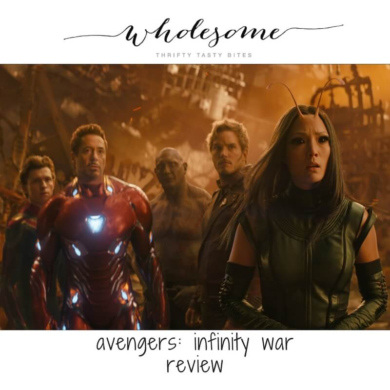 Infinity War – Spoiler Free Family Review