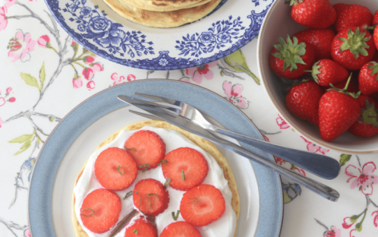 Strawberry Pizza Pancakes – Ad