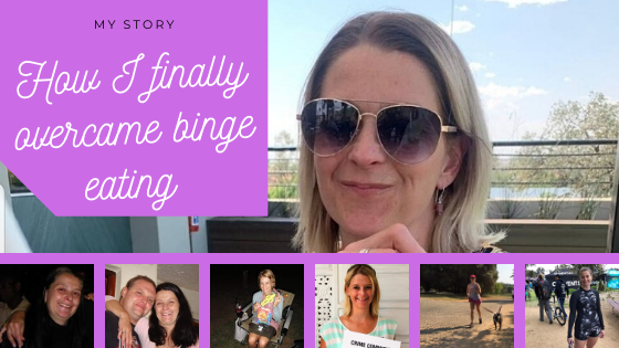 Overcome binge eating, emotional eating, My binge eating story.