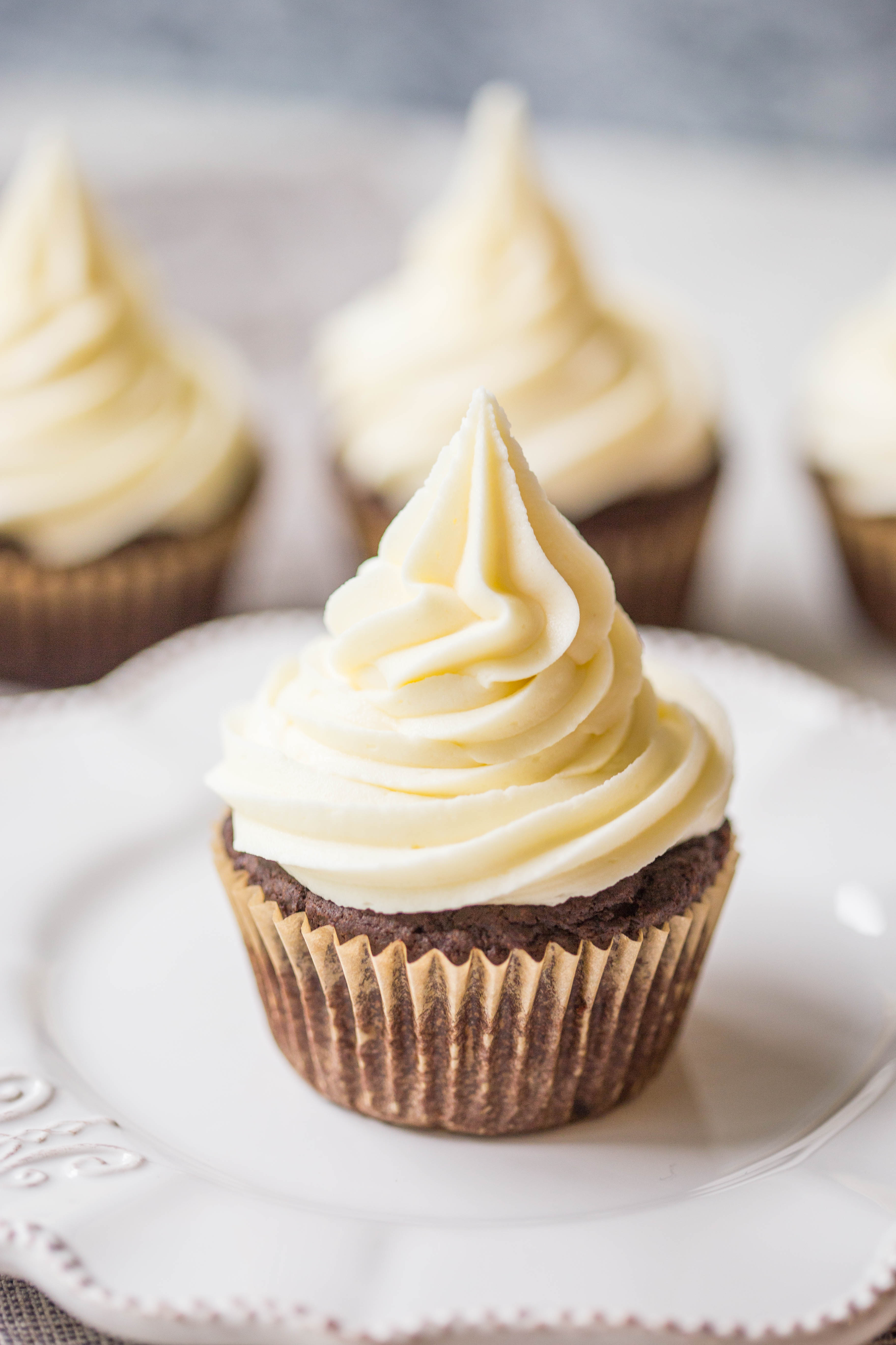 Caramel White Chocolate Cupcakes Wholesome Patisserie